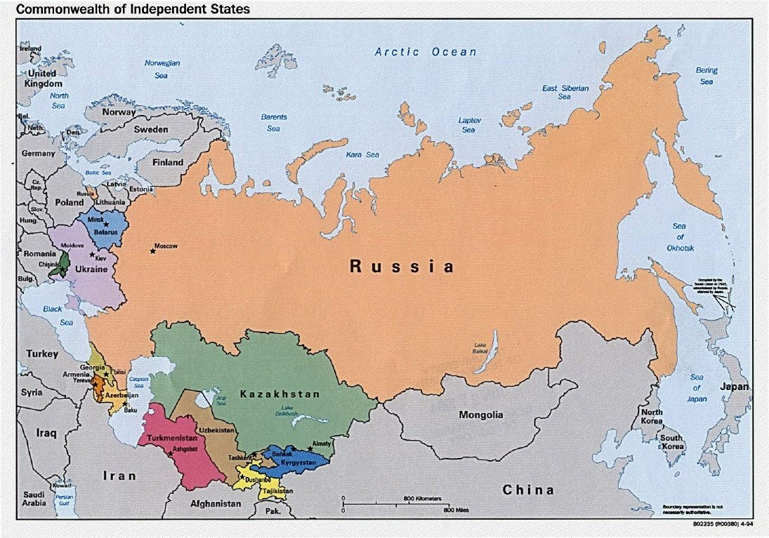 graphic about Printable Map of Russia identify Printable Map of Map of Russia and the Black Sea, Map Cost-free