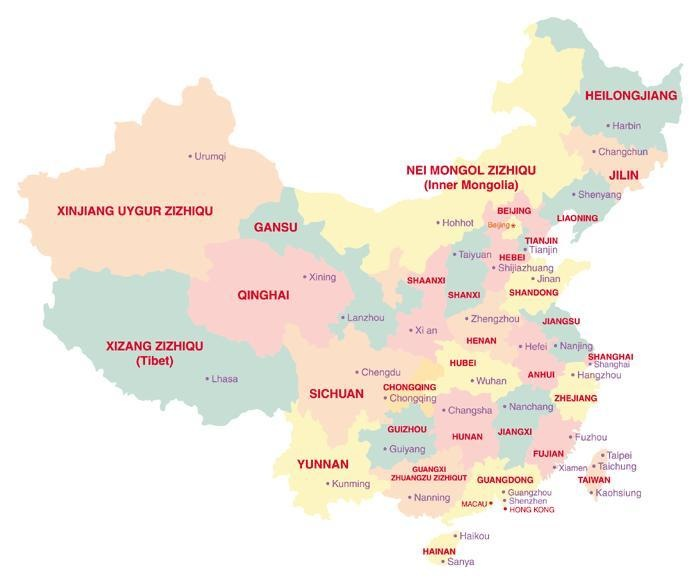 photograph about Printable China Map known as Printable Map of Maps of China, Maps Free of charge Printable Maps