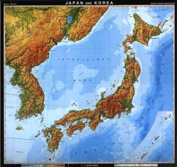 Printable map of physical maps of japan physical feature maps physical maps of japan physical feature maps gumiabroncs Gallery